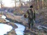 Avcı Tek Atışta Ördeği Vuruyor