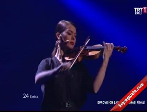 Sırbistan: Željko Joksimović Eurovision 2012 Final Canlı Performans