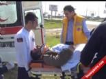 Manavgat'ta Trafik Kazası; 1 Ölü 1 Yaralı