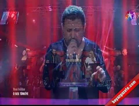 O Ses Türkiye - Ersin Yılmaz, Ahmet Kaya'dan 'Kafama Sıkar Giderim' Performansı