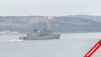NATO Üyesi Ülkelerin Savaş Gemileri Çanakkale Boğazı'ndan Geçti