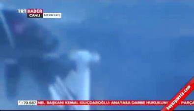 Uyuşturucu gemisine operasyonun görüntüleri yayınlandı