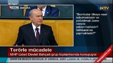 Bahçeli: PKK yandaşlarına gereken cezayı vermek namus borcudur