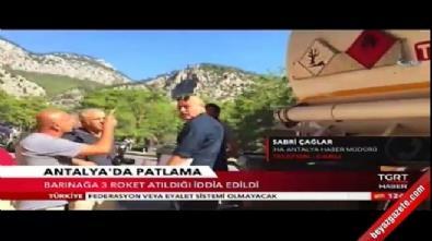 Antalya-Kemer Karayolu'nda balıkçı barınağı yakınına roketli saldırı!
