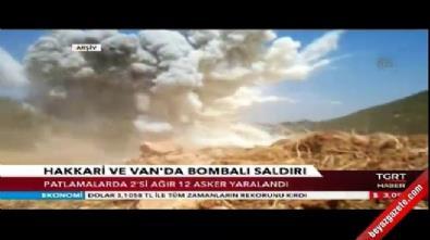 Hakkari ve Van'da askere bombalı saldırı: 2'si ağır, 12 yaralı