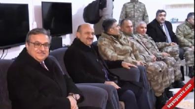 Milli Savunma Bakanı Işık, Şırnak Namaz Dağı'nda nöbet tutan Mehmetçikleri ziyaret etti