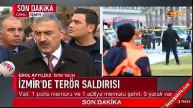 İzmir Valisi bombalı saldırıyla ilgili açıklamalarda bulundu