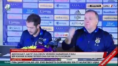 Dick Advocaat'tan Mehmet Ekici ve Aatif açıklaması