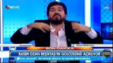 Rasim Ozan Beşiktaş'ın yeni golcüsünü açıkladı