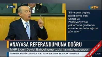 Devlet Bahçeli'nin 'Erdoğan' sözleri ayakta alkışlandı!