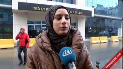 Başörtülü genç kıza minibüste çirkin saldırı