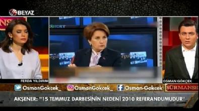 Osman Gökçek'ten Meral Akşener'e 'darbe' göndermesi