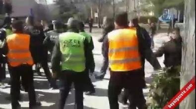 'Öcalan'a İdam' pankartı asan öğrencilere saldırı