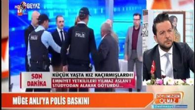 Müge Anlı'nın programına polis baskını