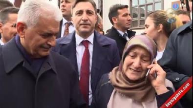 Başbakan Yıldırım vatandaşı Erdoğan'la görüştürdü