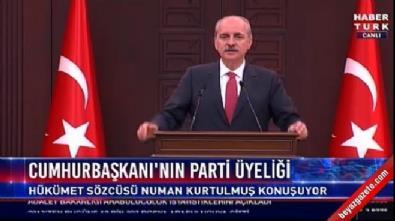 Kurtulmuş: Erdoğan 21 Mayıs'ta AK Parti Genel Başkanı