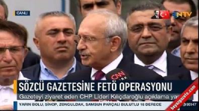 CHP lideri Kılıçdaroğlu, Sözcü gazetesinde