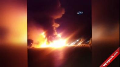Denizli'de kaza ve patlama: 3 ölü, 4 yaralı