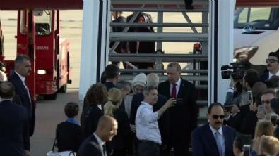 Cumhurbaşkanı Erdoğan, G20 için Almanya'da