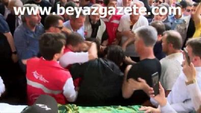 Suriyeli 9 aylık hamile kadın ve bebeğinin cenazesinde gözyaşları sel oldu