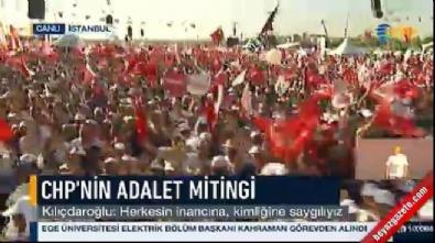 Kemal Kılıçdaroğlu: Sokaksa, evet sonuna kadar sokak (CHP Adalet Mitingi)