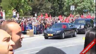 Cumhurbaşkanı Erdoğan, 15 Temmuz Şehitliği'nde