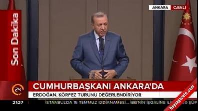 Cumhurbaşkanı Erdoğan: Müslümanları teröristlerle eş tutmak büyük bir akıl tutulmasıdır
