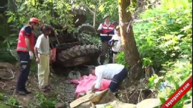 Fındık işçilerini taşıyan traktör dereye devrildi: 7 ölü, 10 yaralı