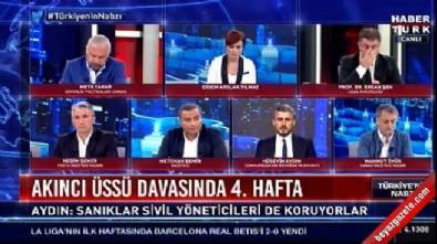 Canlı yayında gelen ses Didem Arslan'ı kızdırdı