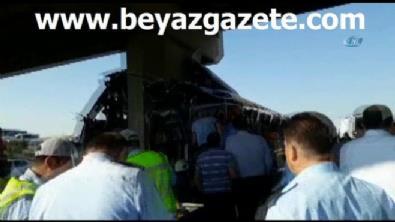 Ankara-Eskişehir karayolunda yolcu otobüsü kaza yaptı: 5 ölü