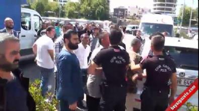 Adliye önünde 2 kişiyi vuran zanlılar kamerada