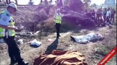 Bursa'da minibüs ile kamyonet çarpıştı: 7 kişi öldü