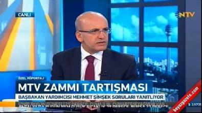 Mehmet Şimşek: Devlet durduk yere MTV zammı yapmaz