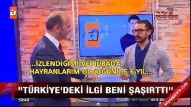 Aamir Khan: Türk insanı çok tutkulu