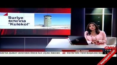 Suriye sınırına 'Kulekol'