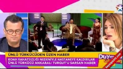 Ankaralı Turgut hastaneye kaldırıldı: Akciğer kanseri mi oldu?