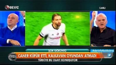 Ahmet Çakar canlı yayında Caner Erkin'i tehdit etti