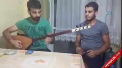 Şehit olan askerin türkü söylediği video ortaya çıktı