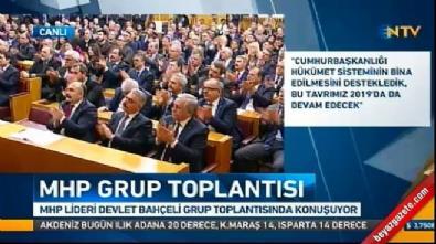 Bahçeli, Erdoğan'a desteğini yeniledi