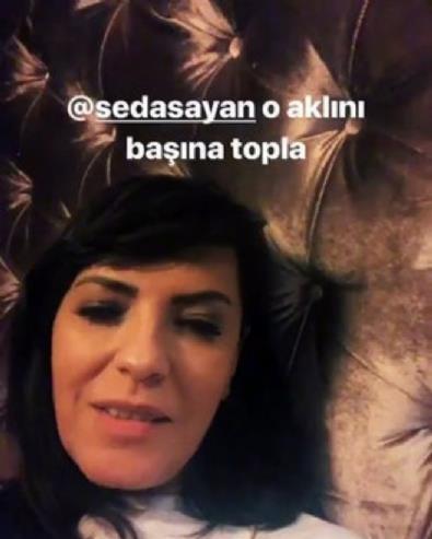 Yeşim Salkım'dan Seda Sayan'a: Gönderirim seni de geldiğin yere