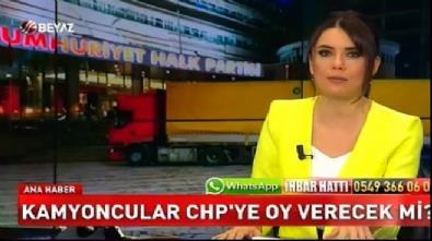 Kamyoncular CHP'ye oy verecek mi?