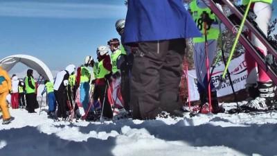 Sarıkamış'ta kayak yarışları - KARS