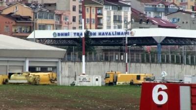 Trabzon Havalimanı pisti Kasım ayında bakıma alınmıştı