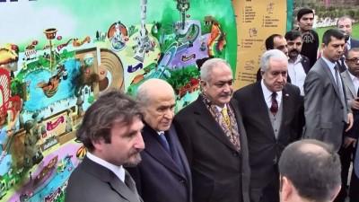 MHP Genel Başkanı Bahçeli, Masalpark'ı gezdi - OSMANİYE