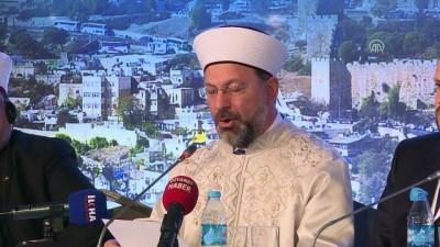 'Vahyin Kutsadığı Şehir: Kudüs' - Diyanet İşleri Başkanı Erbaş (4) - İSTANBUL