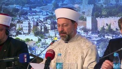'Vahyin Kutsadığı Şehir: Kudüs' - Diyanet İşleri Başkanı Erbaş (2) - İSTANBUL