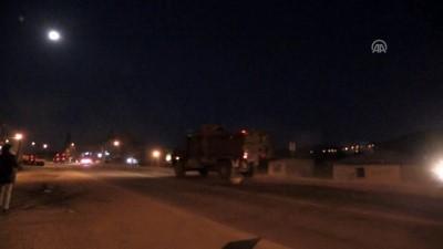 Suriye sınırına askeri sevkiyat - 15 araçlık askeri konvoy Kilis'e ulaştı - KİLİS