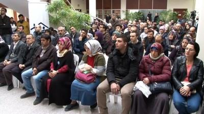 Engelli vatandaşlar ilk maaşlarını Afrin'e gönderecek