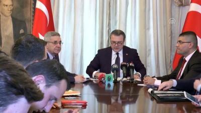 Zeytin Dalı Harekatı bilgilendirme toplantısı - Türkiye'nin Tiran Büyükelçisi Yörük - TİRAN