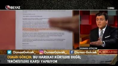 Osman Gökçek: Bu operasyon Kürtlere değil terör örgütüne yapılıyor